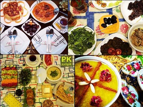 عکس های سفره افطاری ماه رمضان,مدل های سفره افطار ماه رمضان,عکس سفره افطاری,سفر آرایی ماه مبارک رمضان,مدل های رنگارنگ غذا در سفره افطاری,سفره افطاری زیبا 94