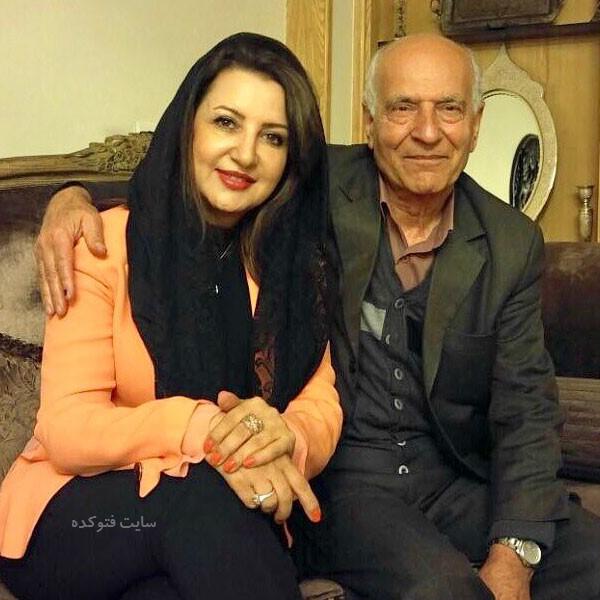 سهیلا گلستانی و پدرش + بیوگرافی کامل زندگی شخصی