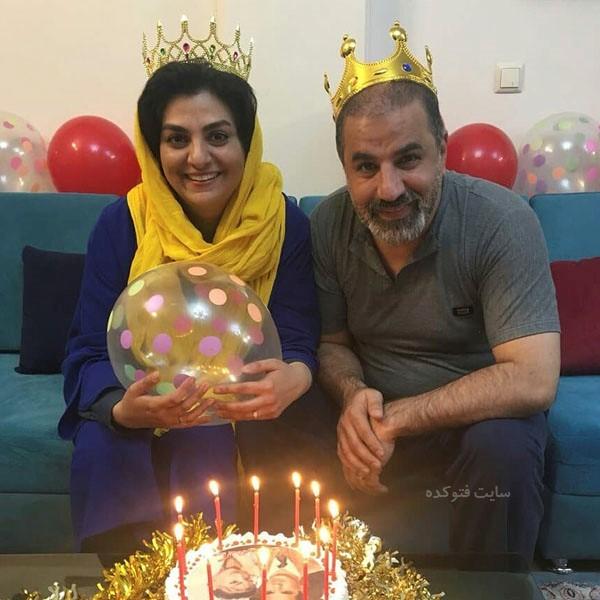 بیوگرافی سهیلا جوادی و همسرش علی سلیمانی + عکس دونفره