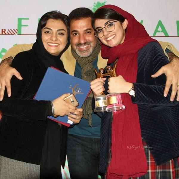 علی سلیمانی و همسرش سهیلا جوادی و دخترش صبا + بیوگرافی کامل