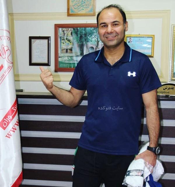 سهراب بختیاری زاده بازیکن و سرمربی فوتبال