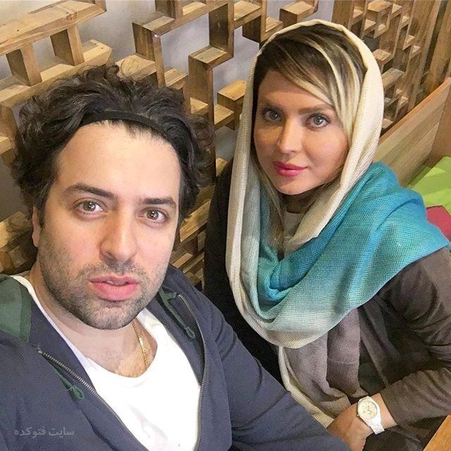 عکس سولماز آقمقانی و همسرش علی خیامی
