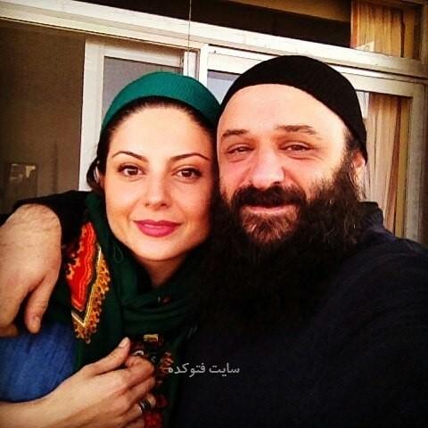 عکس سولماز غنی و همسرش علی رحیمی + بیوگرافی کامل