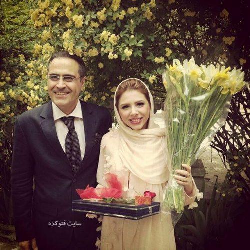 عکس بهزاد خداویسی و همسر دومش سولماز اعتماد + بیوگرافی کامل