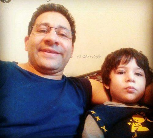 بیوگرافی سروش جمشیدی و همسرش با عکس خانوادگی جدید
