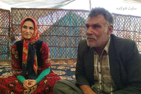 عکس سوسن رشیدی قهرمان عشایری و پدرش + زندگینامه