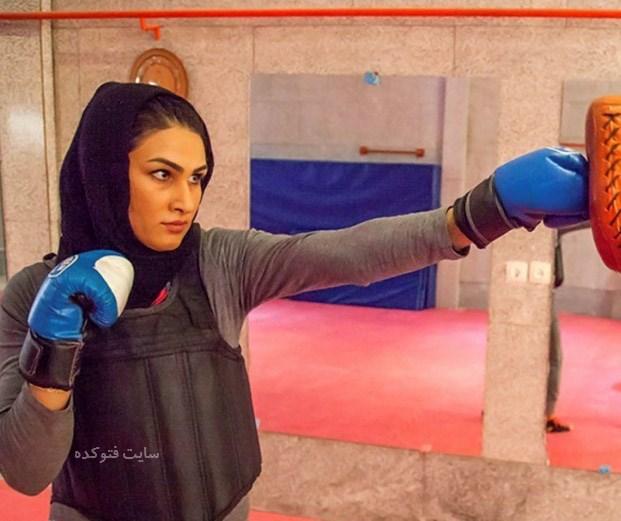 عکس و بیوگرافی سوسن رشیدی ورزشکار قهرمان عشایری