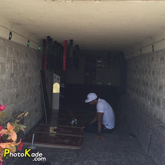 ماجرای سوشا مکانی در کهف الشهدا