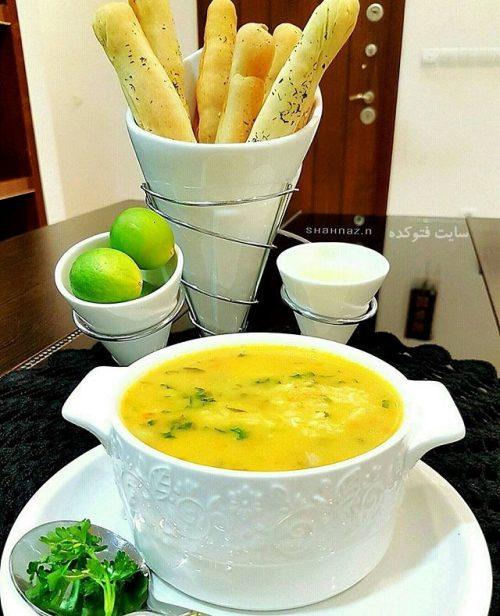 طرز تهیه سوپ هویج و گشنیز خوشمزه و لذیذ + عکس و دستور پخت
