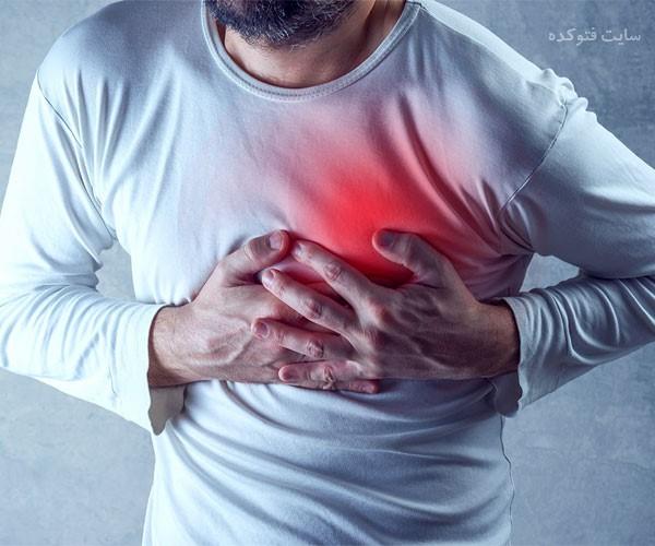علت تیر کشیدن و سوزش قلب