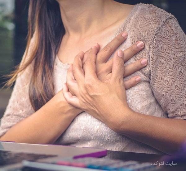 راه درمان تیر کشیدن و سوزش قلب