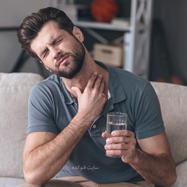 علت سوزش گلو در صبح چیست
