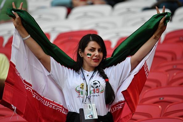 عکس تماشاگران بازی ایران و اسپانیا در جام جهانی 2018