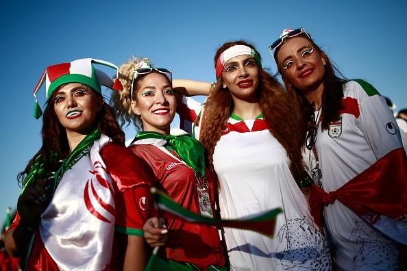 تماشاگران ایران و اسپانیا