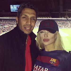سپهر حیدری و همسرش در اسپانیا و ایتالیا