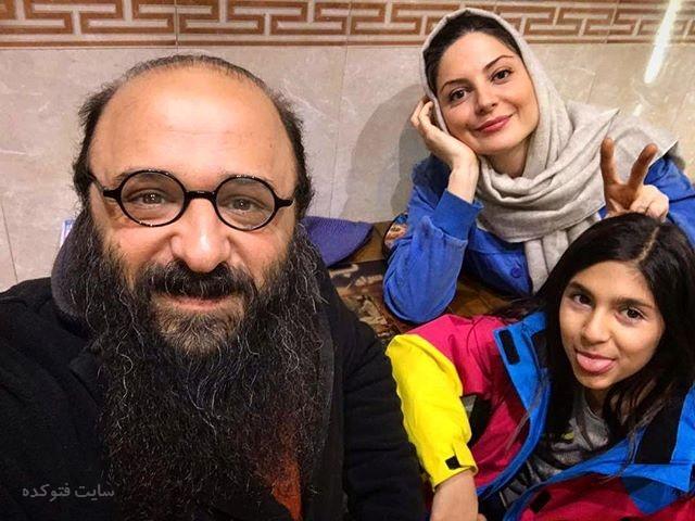 عکس سولماز غنی و همسرشزمستان 96