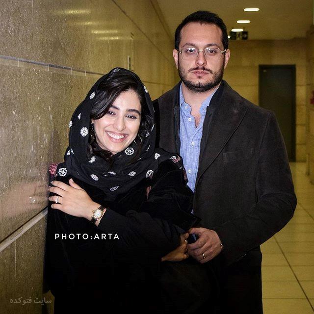عکس آناهیتا افشاری و همسرش زمستان 96