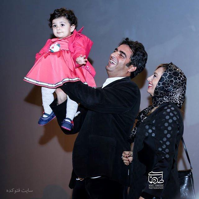عکس یکتا ناصر و همسرش منوچهرزمستان 96