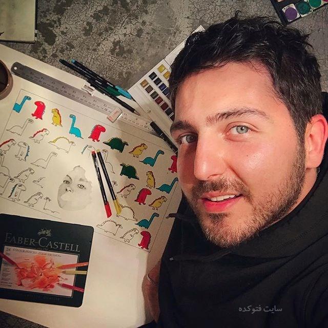 عکس جدید محمدرضا غفاری (بیوگرافی کامل)