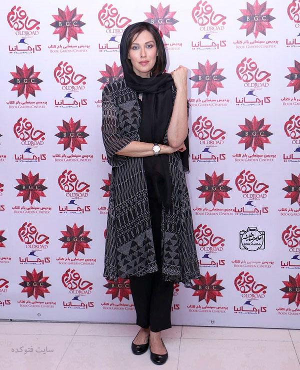 مدل مانتو بازیگران در مهر 97 مهتاب کرامتی