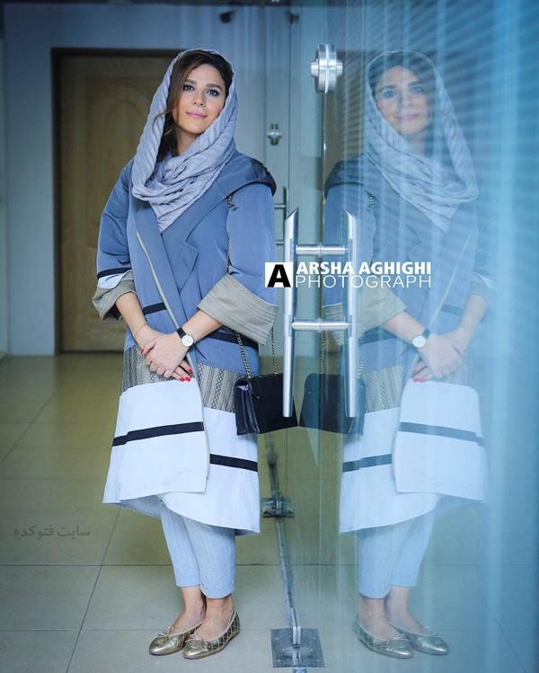 مدل مانتو بازیگران در مهر 97 سحر دولتشاهی
