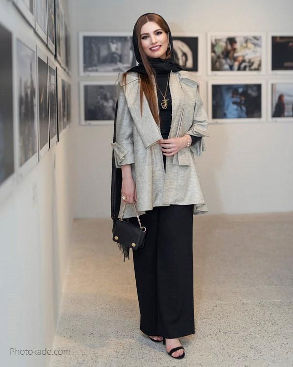 عکس مدل لباس متین ستوده