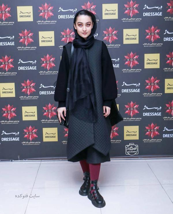 لباس بازیگران زن ایرانی در زمستان 97 نگار مقدم