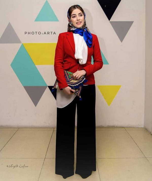 لباس بازیگران زن ایرانی در زمستان 97 نیلوفر رجایی
