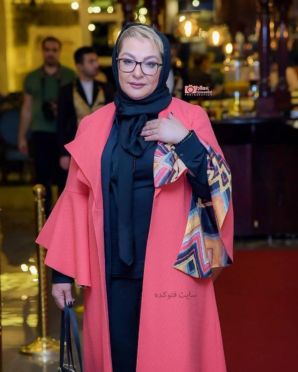 لباس بازیگران زن ایرانی در زمستان 97 لاله صبوری