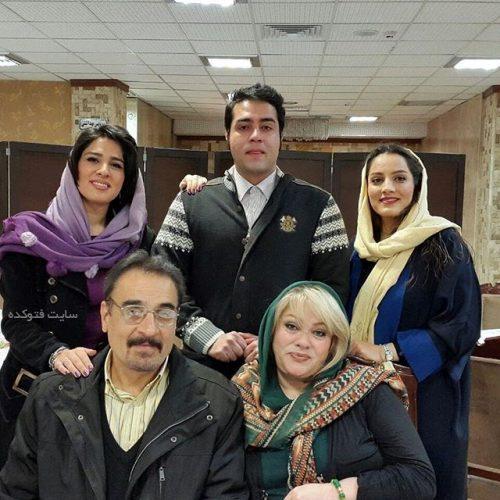 عکس خانوادگی سوده ازقندی