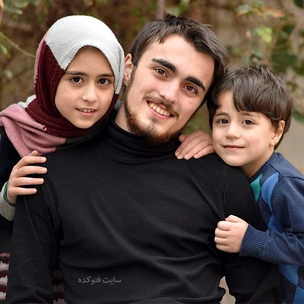 خواهر و برادراحمد خمینی فرزند حسن خمینی