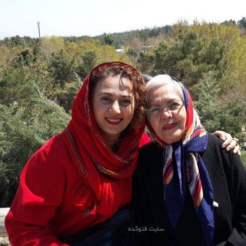 عکس تبسم هاشمی و مادرش