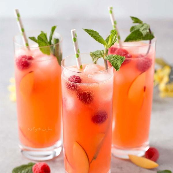 طرز تهیه انواع نوشیدنی های خنک تابستانی ساده و خوشمزه