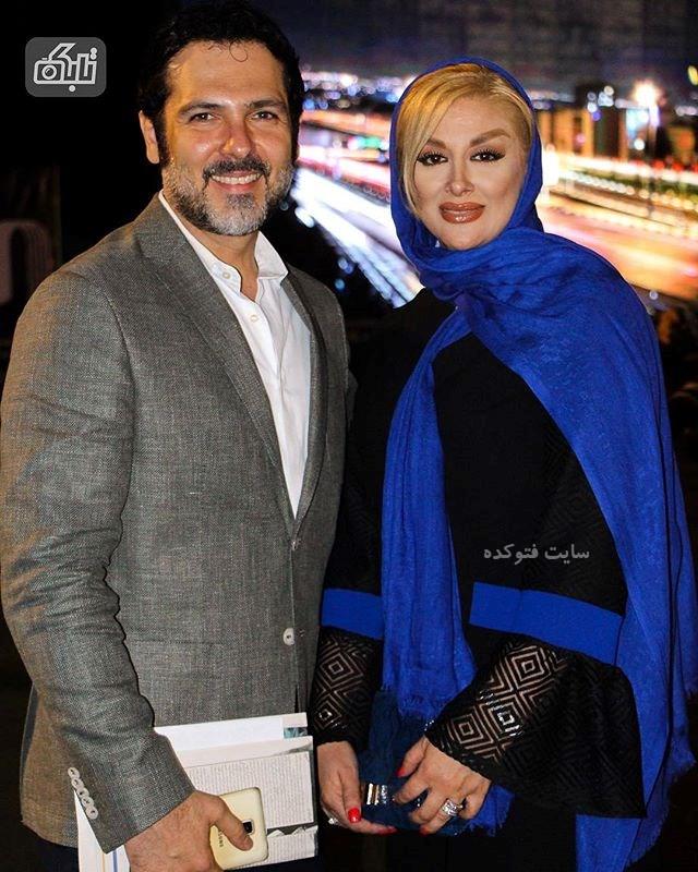 عکس کورش تهامی و همسرش پونه یزدانی + بیوگرافی کامل