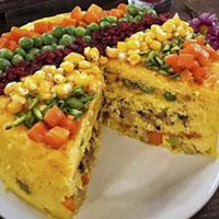 طرز تهیه ته چین سبزیجات + آموزش و دستور پخت کامل