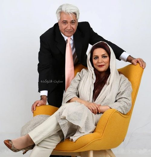 تهمینه میلانی و همسرش محمد نیک بین