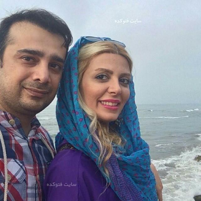 بازیگران طلاق گرفته ایرانی سپند امیر سلیمانی و همسرش