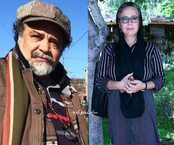 عکس بازیگران طلاق گرفته جدید آزیتا حاجیان و همسرانش