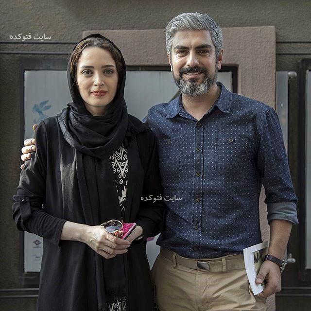 زوج های بازیگر طلاق گرفته بهنوس طباطبایی و مهدی پاکدل