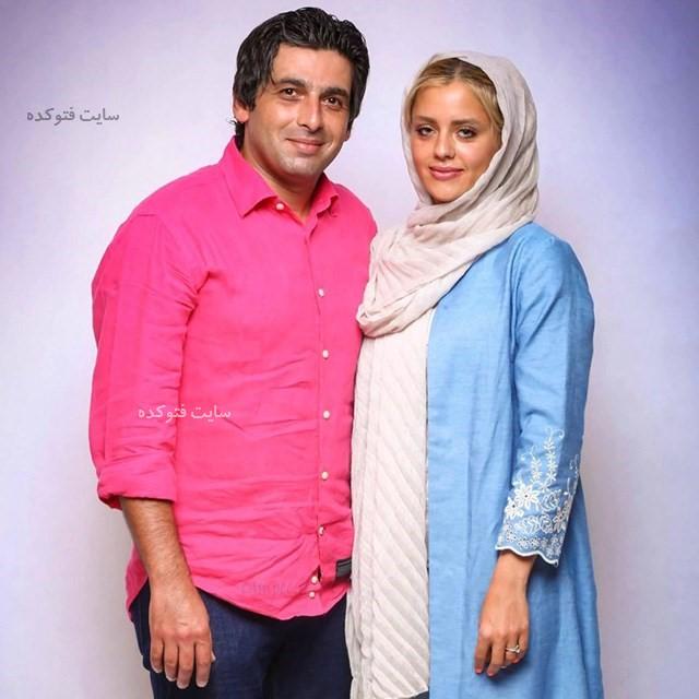 بازیگران طلاق گرفته ایرانی حمید گودرزی و همسرش