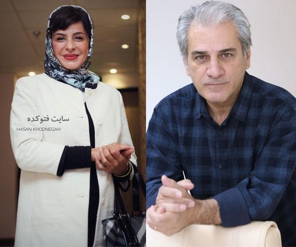 زوج های بازیگر طلاق گرفته سیما تیرانداز و ناصر هاشمی