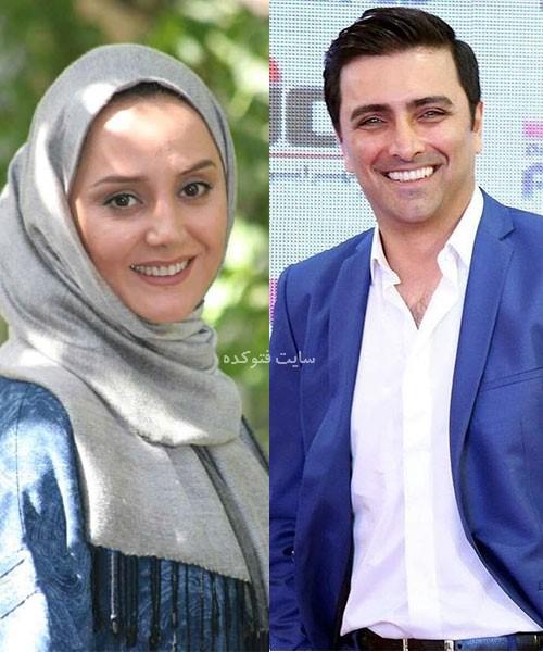 بازیگران طلاق گرفته ایرانی امید زندگانی و همسرش