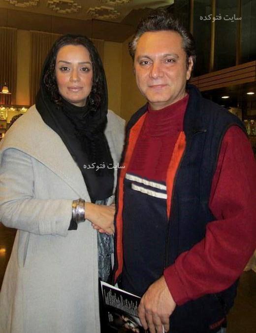 بازیگران طلاق گرفته ایرانی الهام چرخنده و همسرش