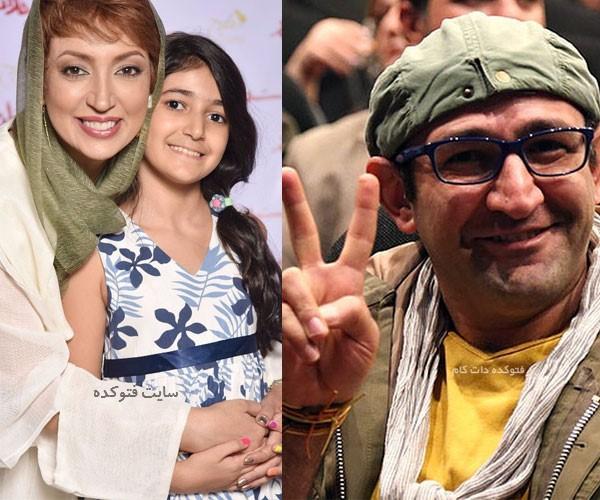اسامی بازیگران طلاق گرفته ایرانی هدایت هاشمی و همسرش