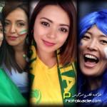 عکس تماشاگران دختر جام ملتهای آسیا