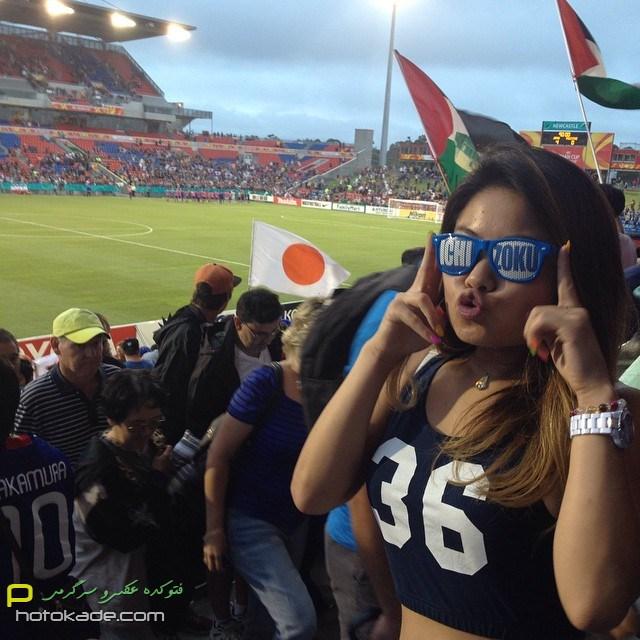 عکس تماشاگران دختر جام ملتهای آسیا,عکس جدید تماشاگران زن فوتبال آسیا 2015,تماشاگران دختر جام ملت های اسیا 2015,عکس لخت دختران جام ملت های اسیا 2015,دختر لخت