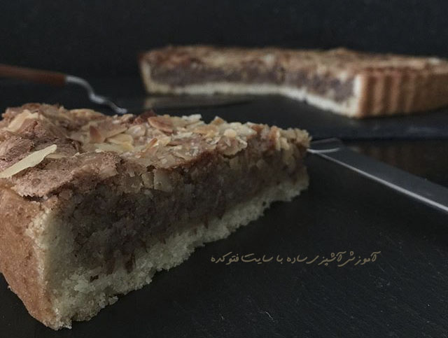 تارت بادام، طرز تهیه تارت بادام، شیرینی تارت بادام با عکس