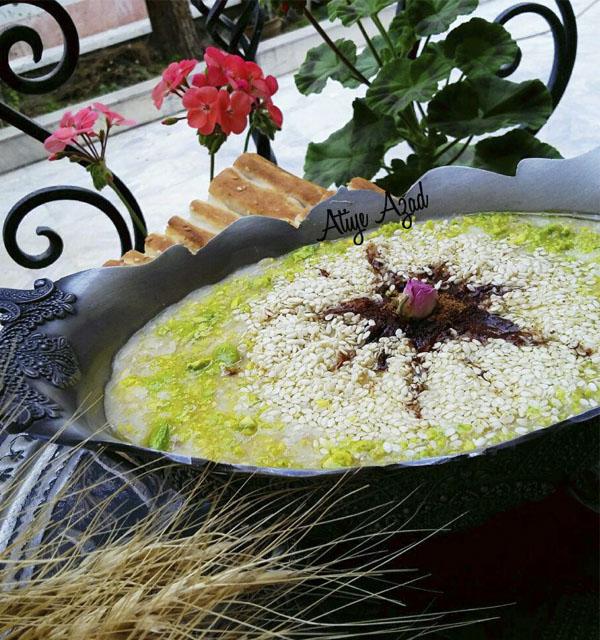 حلیم گندم با مرغ یا گوشت بوقلمون + طرز تهیه در سایت فتوکده