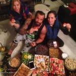 عکس و فیلم امیر تتلو در شب یلدا