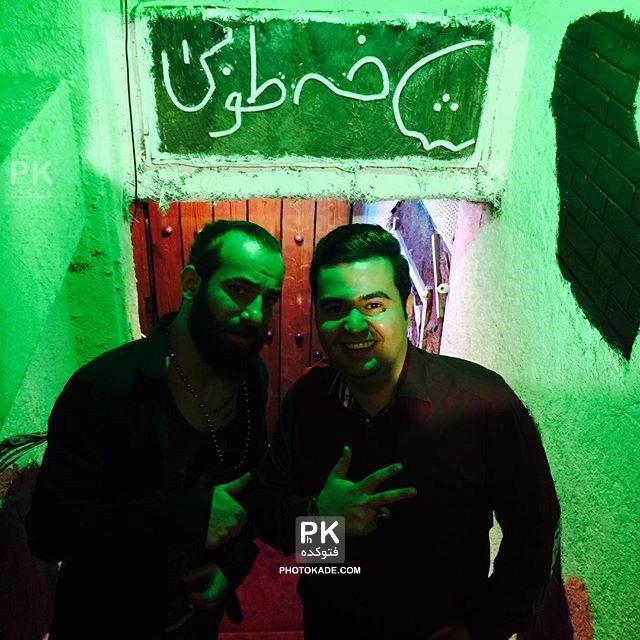 عکسهای جدید امیر تتلو خواننده,امیر تتلو,عکسهای اینستاگرام امیر تتلو,عکس تتلو در رستوران,خالکوبی تتلو